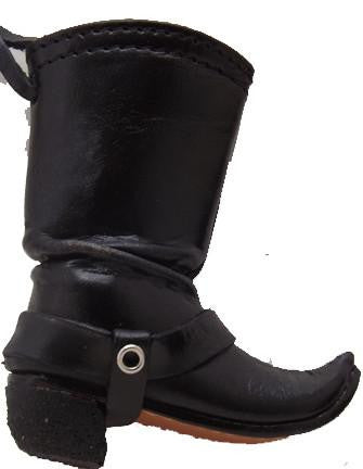 Biker Leather Boot Ornament - North Pole West Cowboy Christmas