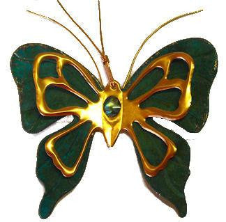 southwestern copper butterfly Christmas tree ornament