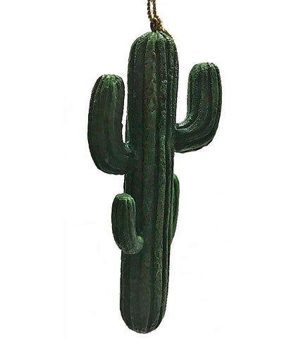 Saguaro cactus western cowboy Christmas ornament from North Pole West can be used in craft and doll house projects too