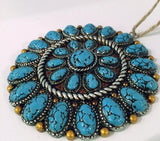 Southwestern Style Round Concho Ornament