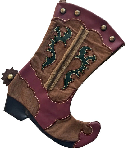 Cowboy Boot Christmas Stockings – North Pole West Cowboy Christmas