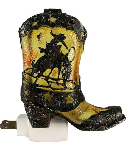 Western Night Light - Cowboy Boot
