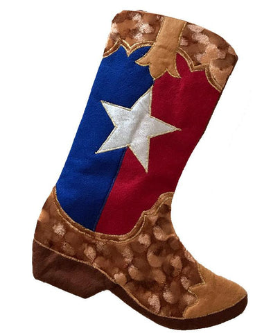 Cowboy Boot Christmas Stockings North Pole West Cowboy