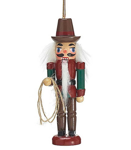 Cowboy Nutcracker Western Christmas Ornament - North Pole West Cowboy Christmas