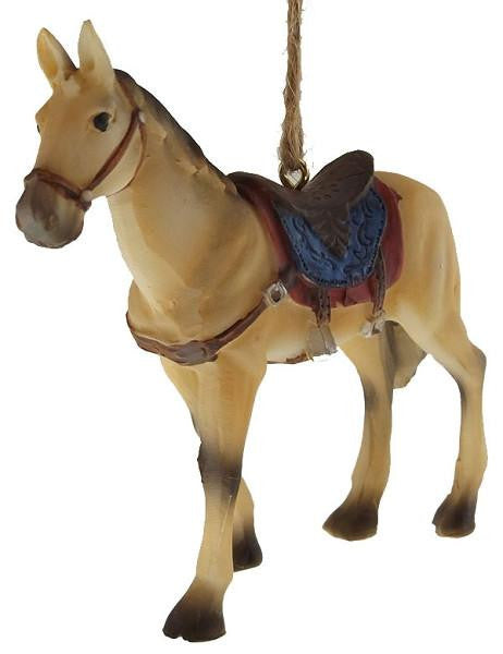 Saddle Horse Sweetheart Ornament - North Pole West Cowboy Christmas Store - 2