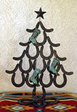 "Horseshoe Christmas Tree  24"" - North Pole West Cowboy Christmas"