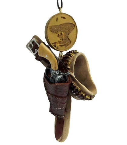 John Wayne Holster Ornament - North Pole West Cowboy Christmas