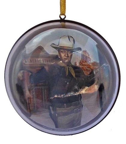 John Wayne western cowboy Christmas ornament decoration