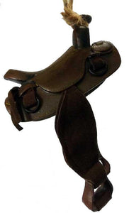 Rich brown will detailed  saddle ornament