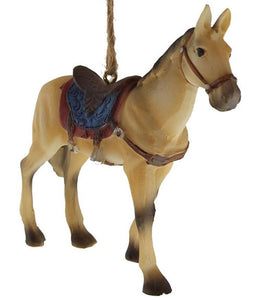 Saddle Horse Sweetheart Ornament - North Pole West Cowboy Christmas Store - 1