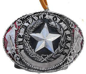 State of Texas Buckle Ornament