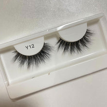 Load image into Gallery viewer, Y12 3D faux mink lashes