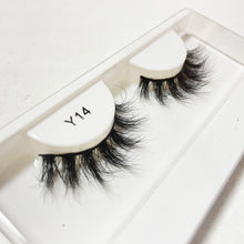 Load image into Gallery viewer, Y14 3D faux mink lashes