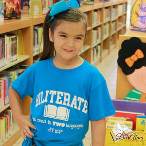 Open image in slideshow, Kids Biliterate Pride T-Shirt