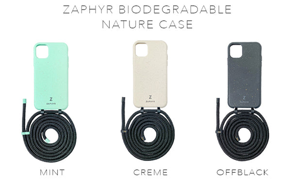 Zaphyr eco-friendly phone cases, multifunctional cases, color range