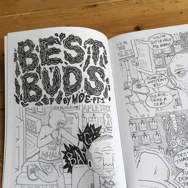 Bosh issues #1 & #2 - illustration comics