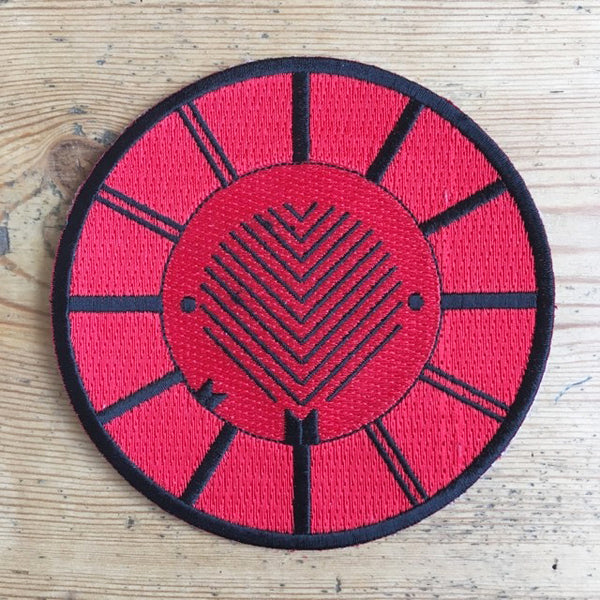 Converge - Red Symbol patch - Merch