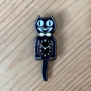 Kit-Cat Clock enamel pin badge - Merch
