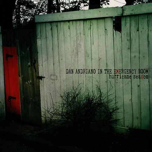 Dan Andriano In The Emergency Room ‎– Hurricane Season LP - Vinyl
