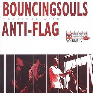 Bouncing Souls / Anti-Flag - BYO Split Series Vol. IV LP - Vinyl