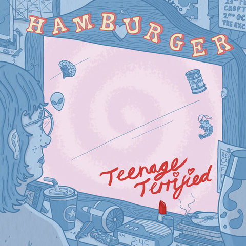 "Hamburger - Teenage Terrified 12"" - Vinyl"