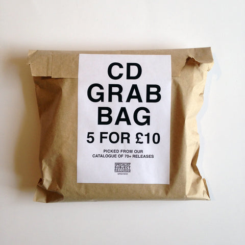 CD Grab Bag - 5 for £10 - CD