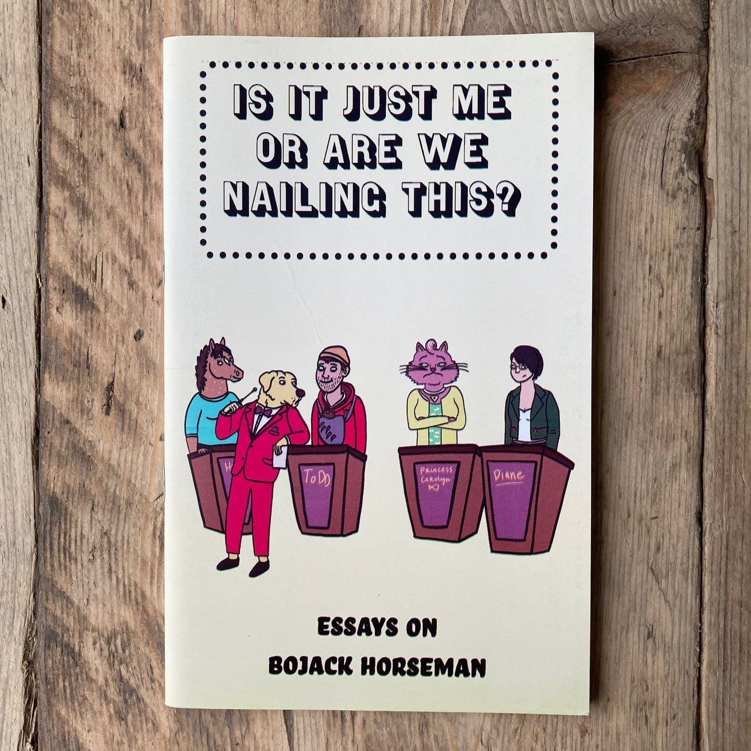 Is It Just Me or Are We Nailing This?: Essays on BoJack Horseman - Zine