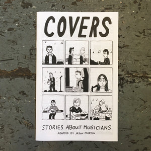 Covers #1: Stories About Musicians - Zine