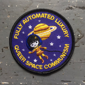 Fully Automated Luxury Queer Space Communism Embroidered Patch - Merch