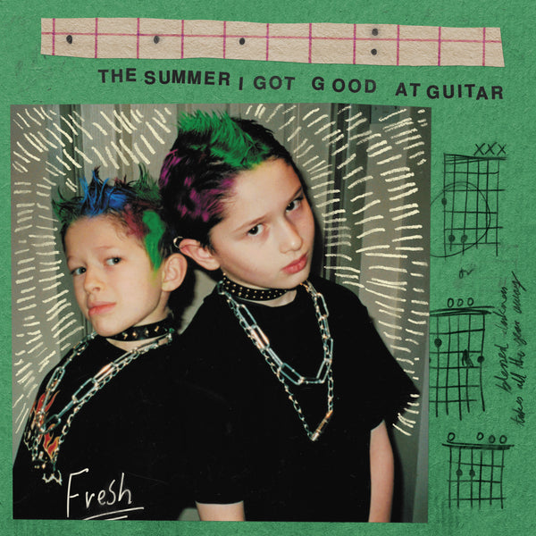 "Fresh - The Summer I Got Good At Guitar 12"" / TAPE"
