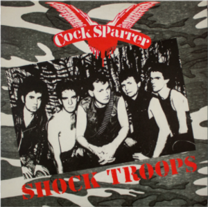 Cock Sparrer - Shock Troops LP - Vinyl
