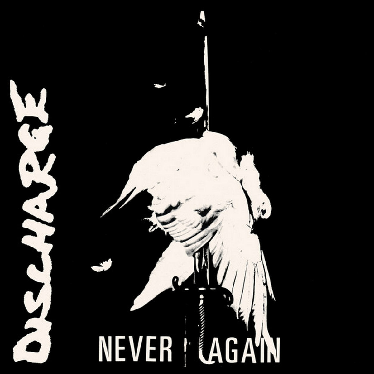 Discharge - Never Again LP - Vinyl
