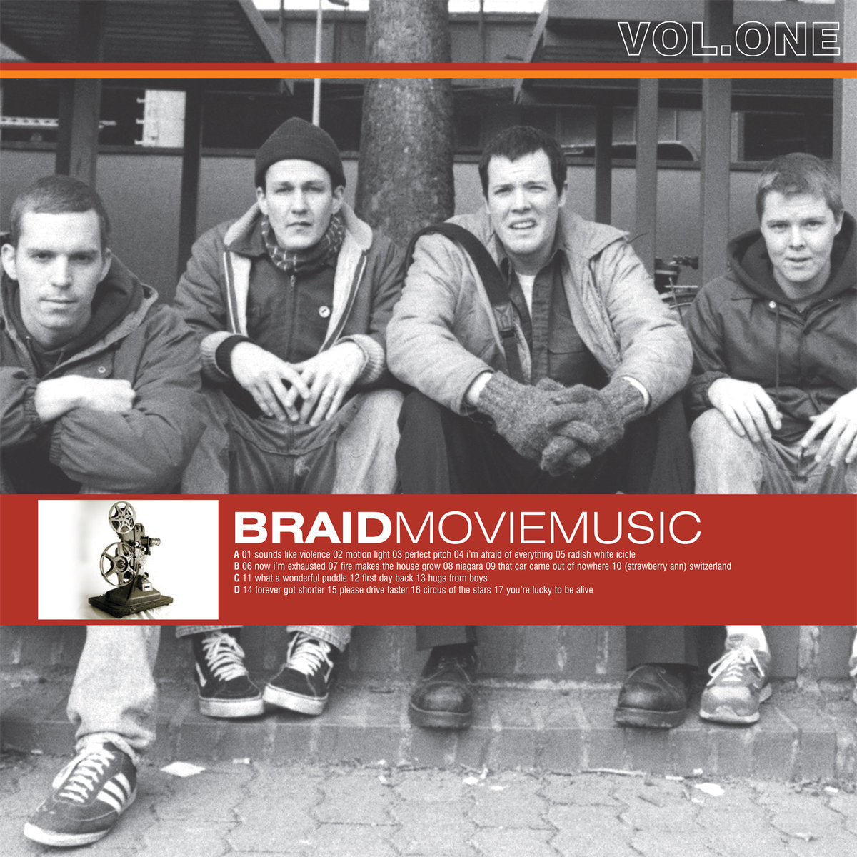 Braid - Movie Music Vol. 1 LP - Vinyl