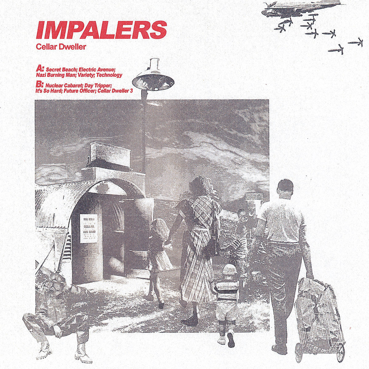 Impalers - Cellar Dweller LP - Vinyl