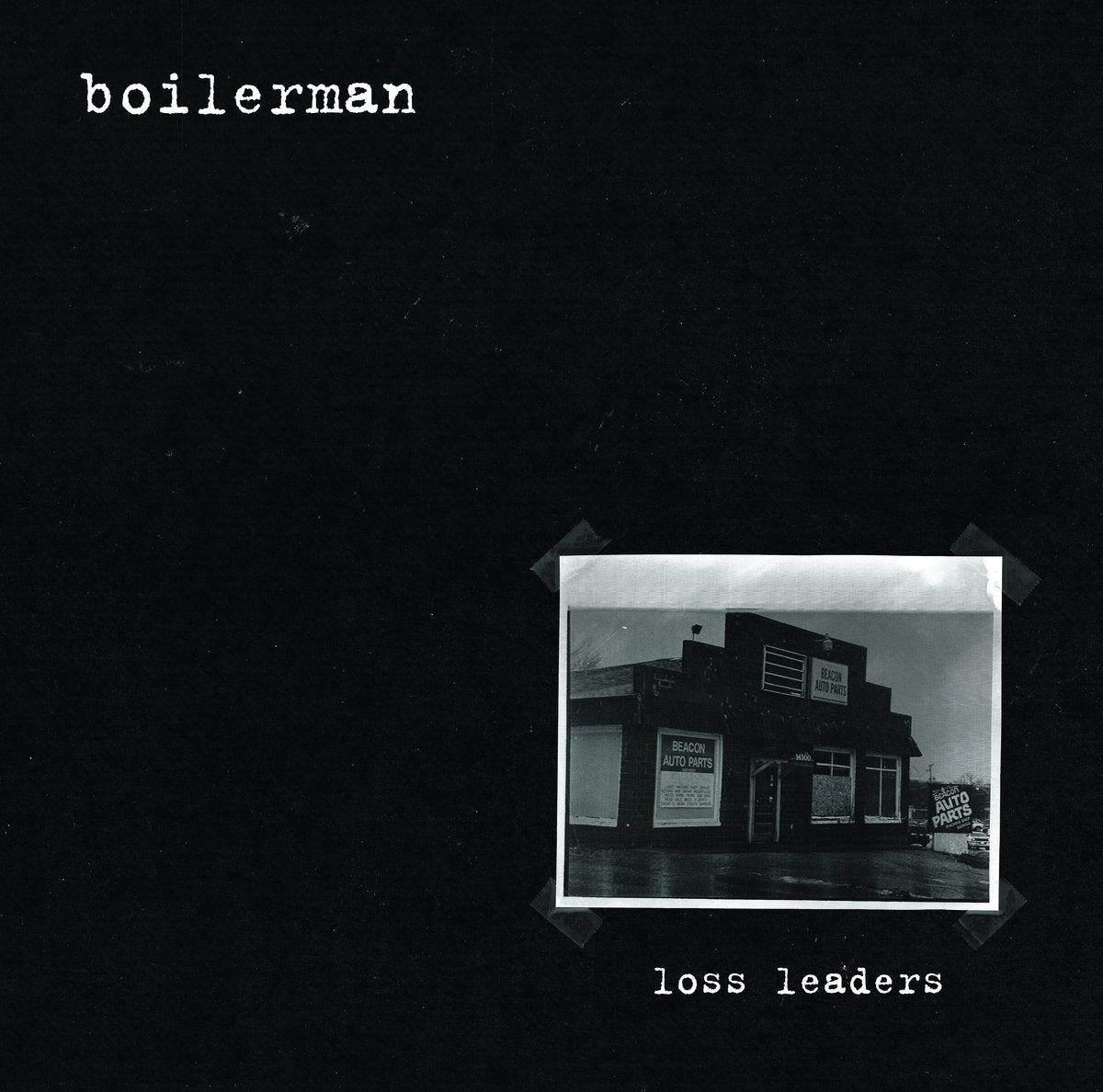 Boilerman - Loss Leaders LP - Vinyl