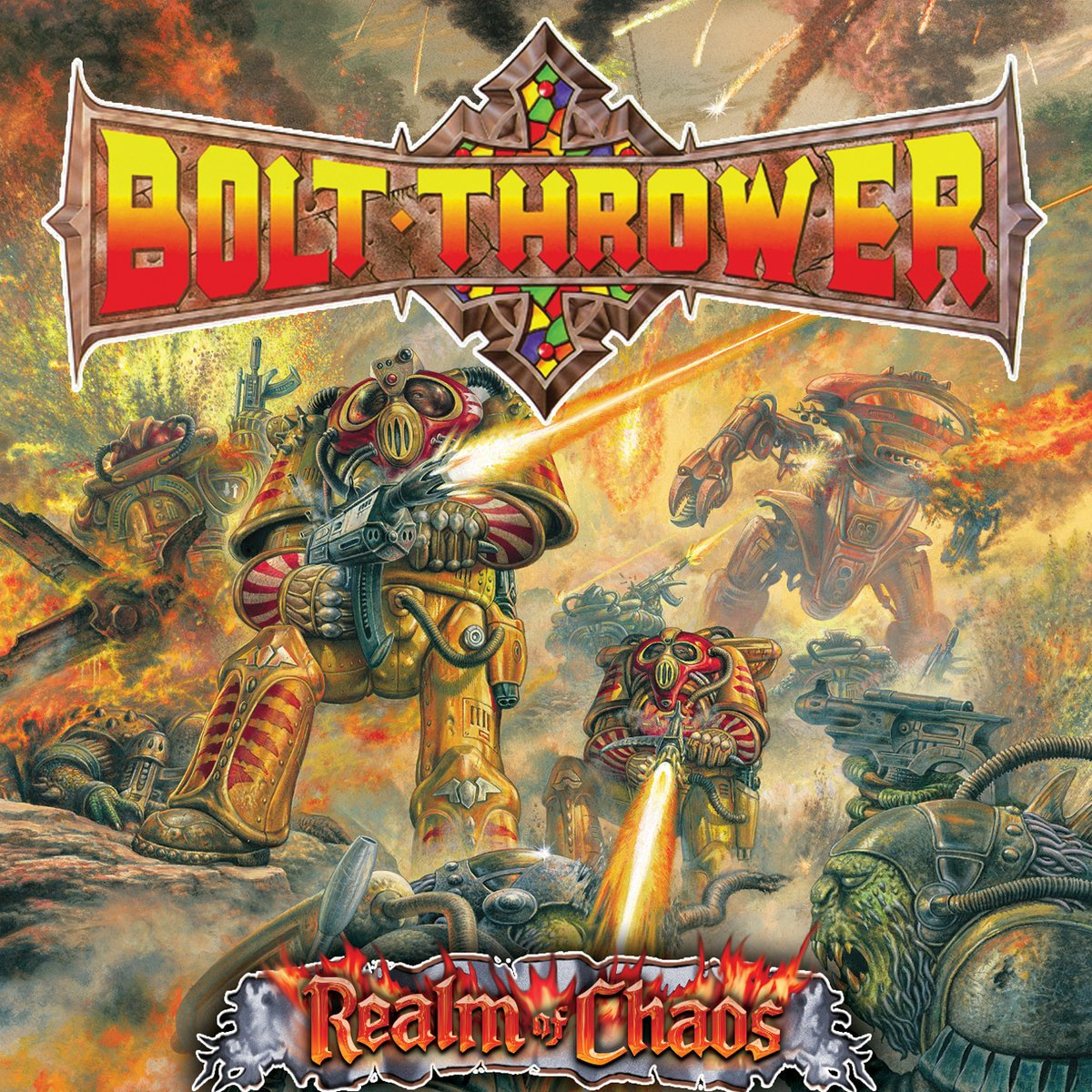 Bolt Thrower - Realm Of Chaos LP - Vinyl
