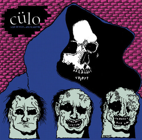 Culo - Life is Vile ... and so are we LP - Vinyl