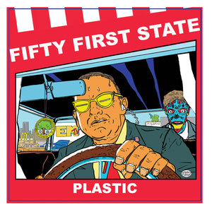 "Fifty First State - Plastic 10"" - Vinyl"