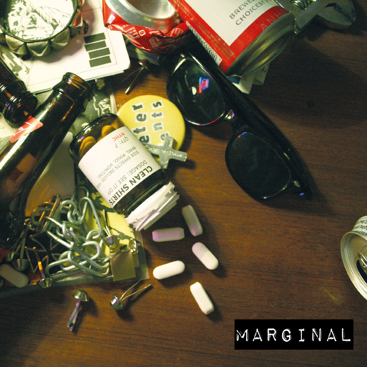 "Clean Shirts - Marginal 7"" - Vinyl"