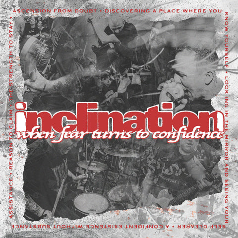 Inclination - When Fear Turns To Confidence LP - Vinyl