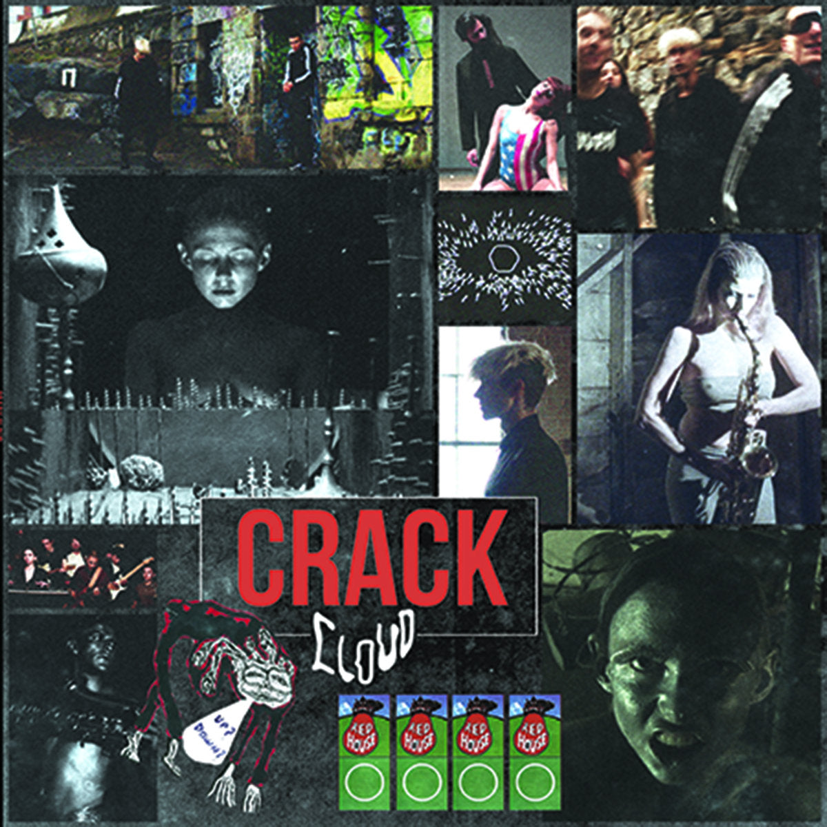Crack Cloud - s/t LP - Vinyl