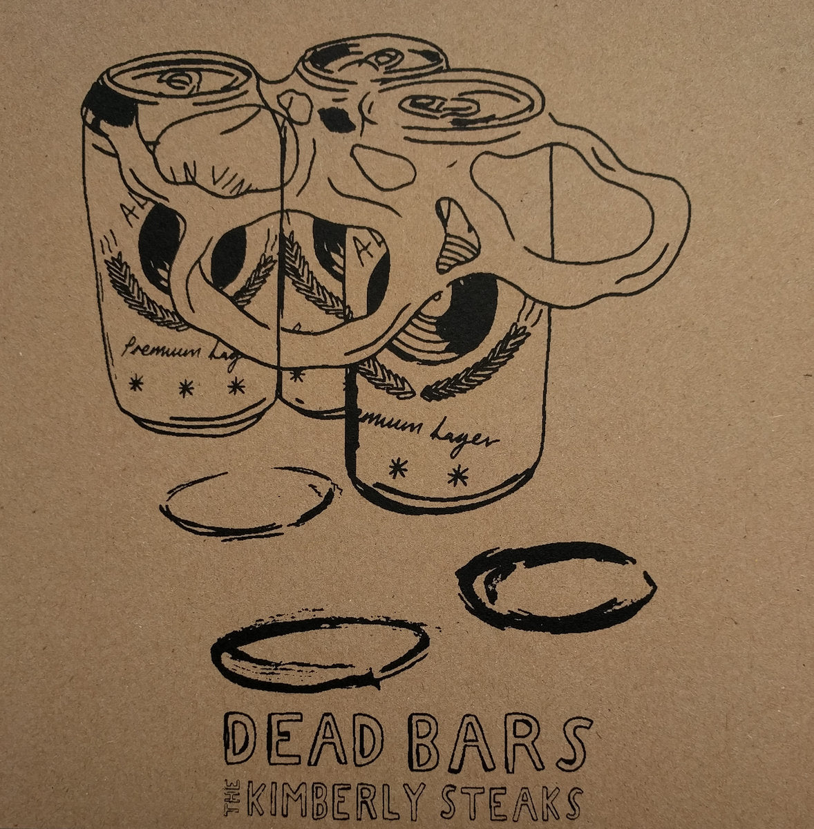 "Dead Bars / The Kimberly Steaks - Split 7"" - Vinyl"