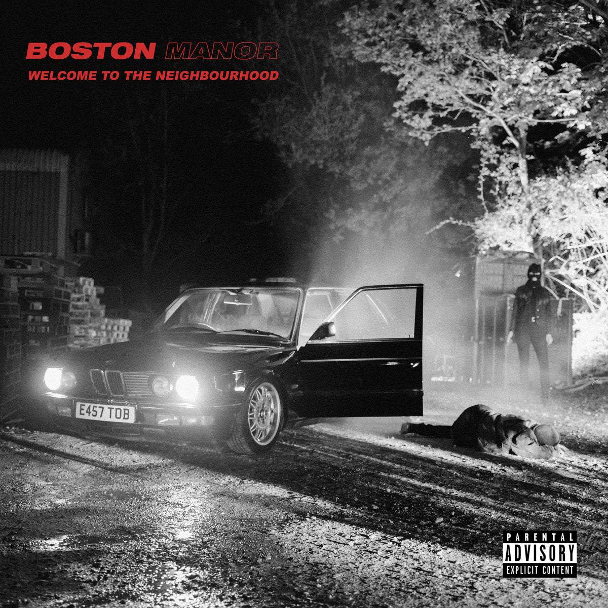 Boston Manor - Welcome to the Neighbourhood LP - Vinyl