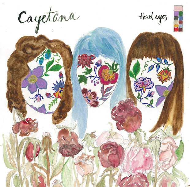 "Cayetana - Tired Eyes 7"" - Vinyl"