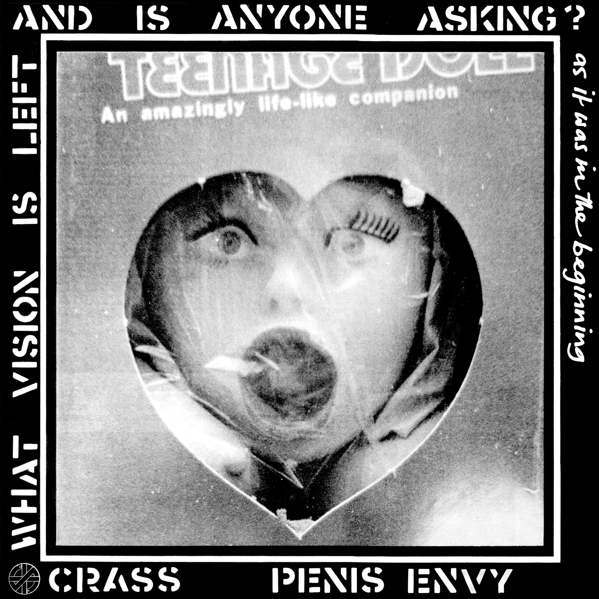 Crass - Penis Envy LP - Vinyl