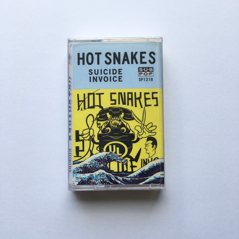 Hot Snakes - Suicide Invoice TAPE