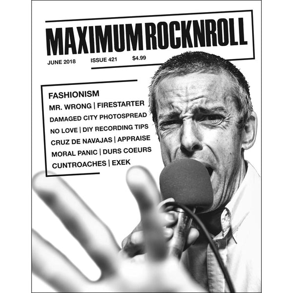MAXIMUM ROCKNROLL #432 & back issues - Zine