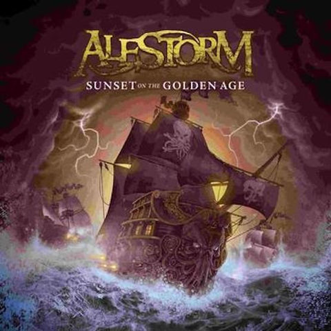 Alestorm - Sunset On The Golden Age LP (RSD 2021)