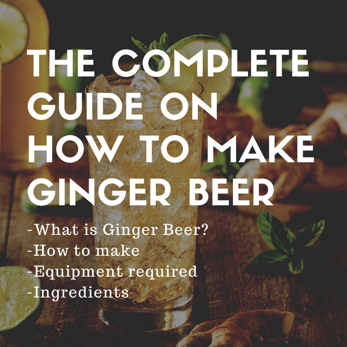 The complete guide on how to make ginger beer