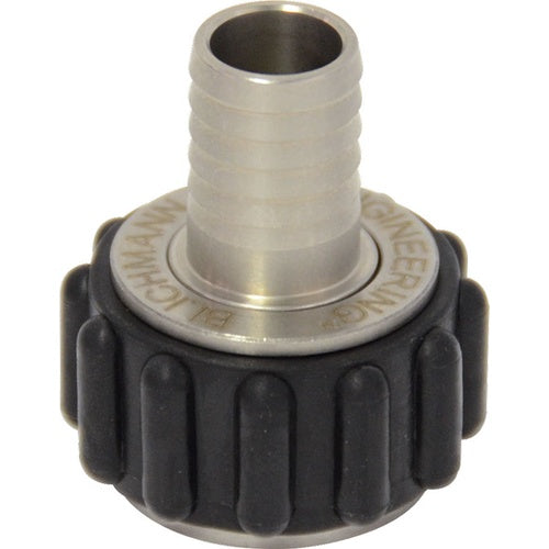 Blichmann Stainless QuickConnector - 1/2in. Straight Barb